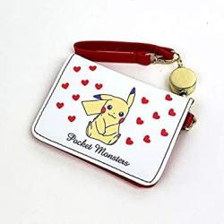 USA Pk Pikachu Two-fold Badge Holders Pass Folder Red Goods