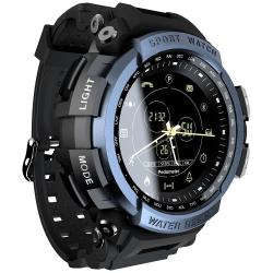 Color Screen IP68 Waterproof Fitness Smart Watch - Blue