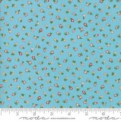 Moda Coco By Chez Moi Quilt Fabric Tiny Flower Style 33395 15 Bluebell