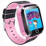 "Kids Gps Smartwatch Phone 1.44"" Touch Screen Smart Watch Bracelet For Children Girls Boys With Camera Pedometer Anti-lost Sos C"