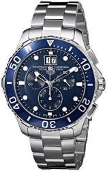 TAG Heuer Men's CAN1011BA0821 Aquaracer Blue Dial Watch