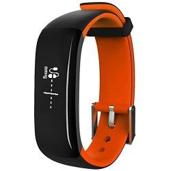 MBHB Waterproof Sport Smart Bracelet Health Tracker With Heart Rate Blood Pressure Sleep Monito