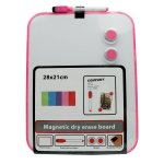 No Brand - A4 Magnetic Whiteboard Neon Pink