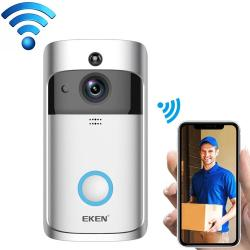 Eken V5 Smart Phone Call Visual Recording Video Doorbell Night Vision Wireless Wifi Security Home Monitor Intercom Door Bell Standard