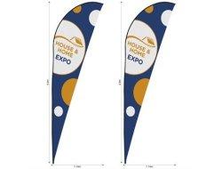 Legend 4M Sharkfin Flying Banner Skin Set Of 2