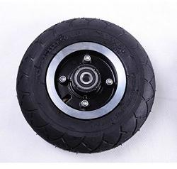 Electric Scooter 200MM Tyre With Wheel Hub 8 Scooter Tyre Inflation Electric Vehicle Aluminium Alloy Wheel Pneumatic Tire Wheel