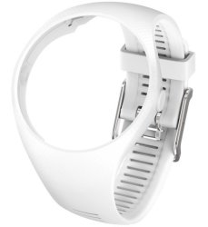 Polar Wristband Medium large - White M200