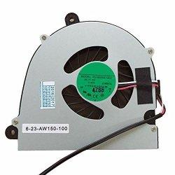 Laptop Cpu Cooling Fan For Clevo W110 W110ER W150 W150HR W170 W170HN W170HR AB7505HX-GE3 Fan