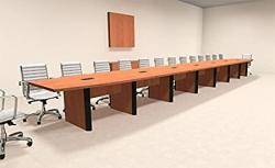 Modern Boat Shaped 30' Feet Conference Table OF-CON-CP51