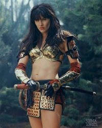 LUCY Lawless 18X24 Poster New Rare BHG84422