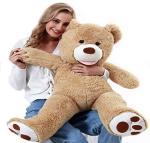 """Chifit Big Teddy Bear 39"""" Teddy Bears Stuffed Animals Giant Teddy Bear Tan"""