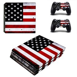 Gebaisi Vinyl Skin Sticker Decal Set For PS4 Pro Console And Controller - Nebular