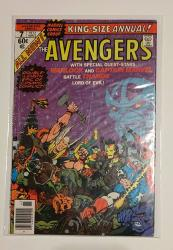 Avengers Annual 7 Comic Book - Vg Condition - Death Of Adam Warlock - Early Thanos Appearance - 1ST Appearance Of Infinity Gems
