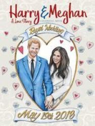 Harry And Meghan: A Love Story Coloring Book Paperback