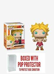 USAD Pop Funko Dragonball Z Broly Summer Convention Exclusive Bundled With Protector