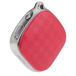 Changsha Hangang Technology Ltd Hangang A9 MINI Gps Vehicle Tracker Child Locator Personal Tracking Device Wallet Tracker Real Time Positioning Accuracy Locator For Child Kids Elder Red