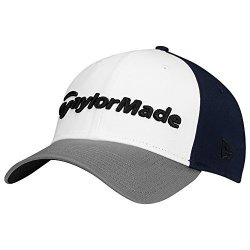 All offers for TaylorMade Golf 2017 Lifestyle New Era 39THIRTY Hat Navy  grey white M l 88fde7e1f8f