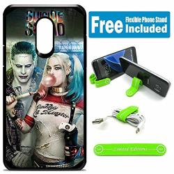Limited Editions For LG Stylo 3 Stylo 3 Plus LS777 Defender Rugged Hard Cover Case - Joker Harley Quinn Real Bubble