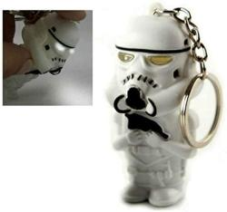 USA Star Wars L.e.d Storm Trooper Keychain With Light And Sound Toy Key Ring Limited Edition