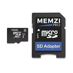 MEMZI Pro 128GB Class 10 80MB S Micro Sdxc Memory Card With Sd Adapter For Motorola Moto Cell Phones