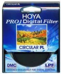Hoya 52mm Pro1D Circular Polariser Filter