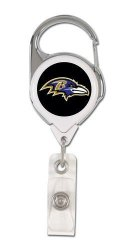 Pro-Motion Distributing - Direct Nfl Baltimore Ravens 47385011 Retractable 2S Premium Badge Holders