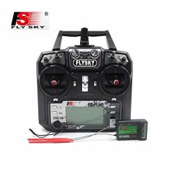 FlySky FS-I6X 10CH 2.4GHZ Rc Transmitter Controller w IA10B Receiver Upgrade Cable For Rc Helicopter Plane Quadcopter Glider