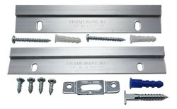 Frameware PBW3 - Frameloc System For Wood Frames - Pack Of 10 W Free Wrench