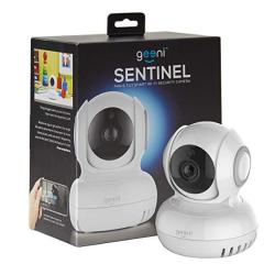 Geeni Sentinel Wireless Security Camera Wifi Home Surveillance Ip Camera For Baby elder pet nanny Monitor Pan tilt Two-way Audio & Night Vision