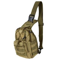 Messenger Bag Camping Travel Hiking Trekking Backpack - Khaki