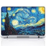 Meffort Inc 15 15.6 Inch Laptop Notebook Skin Sticker Cover Art Decal - The Starring Night
