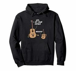 Uke I Am Your Father Funny Music Lover Guitar Ukulele Joke Pullover Hoodie