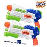 Hitop Super Soaker Water Gun 2 Pack Squirt Guns Water Guns For Kids Adults 36OZ High Capacity Fast Soaking Trigger Summer Water