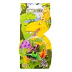 ROLY POLYS - Dinosaur Figures And Sticker Cards