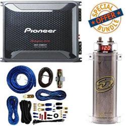 Pioneer 4 Gauge 1600W Monoblock Class-d Car Amplifier + SQCAP2M Power  Capacitor 4 Gauge Amp Kit   R   Car Speakers   PriceCheck SA