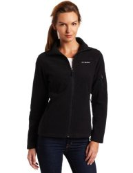 Columbia Women's Activewear Columbia Women's Fast Trek II Full Zip Fleece Jacket Black Small