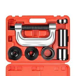 OrionMotorTech Heavy Duty Ball Joint Press & U Joint Removal Tool Kit With  4X4 Adapters For Most 2WD And 4WD Cars And Light Truc | R3199 00 | Car