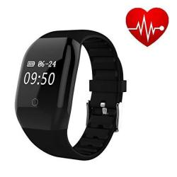 Heart Rate Activity Fitness Tracker - MINI Kitty 608HR Bluetooth IP67 Waterproof Sports Wristband Sleep Monitor call Not