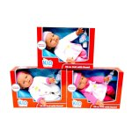 KIDCONNECTION - 32CM Soft Body Doll With Sound