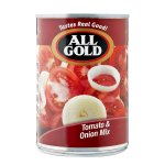All Gold - Canned Tomato And Onion Mix 410G