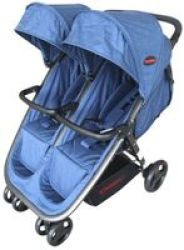 Chelino Aston Twin Stroller Blue