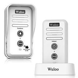 Wireless Intercom Doorbell Chime For Home Intercomunicador 1T1 White
