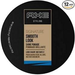 Axe Styling Smooth Look Shine Pomade 2.64 Oz Pack Of 12