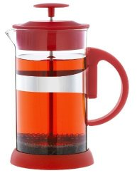 Grosche Zurich French Press Large 1000ML - 34OZ Red