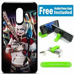 Limited Editions For LG Stylo 4 Stylo 4 Plus Hybrid Rugged Hard Cover Case - Harley Quinn Real Shinylogo