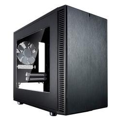 Fractal Design Fd-ca-def-nano-s-bk-w Define Nano S No Power Supply Mini-itx Case Window - Black