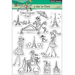 Penny Black Inc. Penny Black Decorative Rubber Stamps A Day In Paris