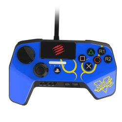 Sparkfox Madcatz PS3 PS4 Controller in Blue
