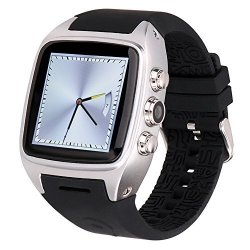 Ourtime X01 Wireless Smartwatch Android 4.4.2 Os With Camera Support T-mobile 3G Wcdma Sim Card Hear