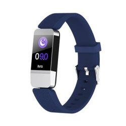 V10 0.96 Inch Color Screen Bluetooth Heart Rate Sleep Monitor Fitness Track Smart W